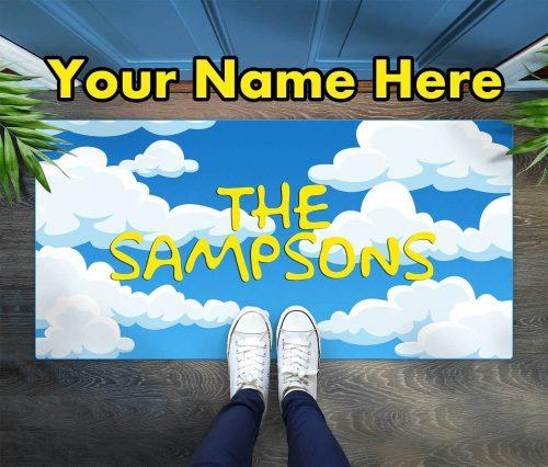 Demo custom floor mat family name