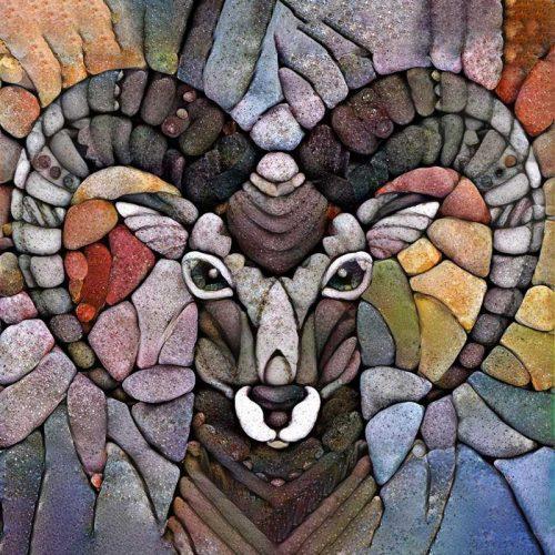 elk in stone