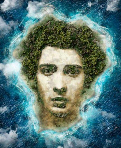 personal island portrait